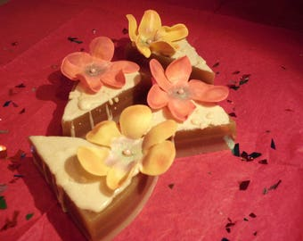 Soap Flower Cakes