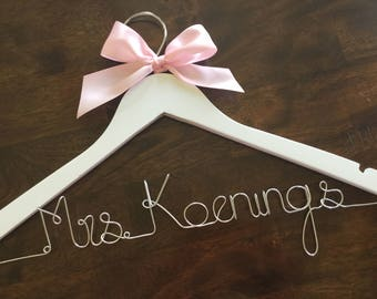 wedding hanger personalized wedding dress hanger bride hanger personalized wedding