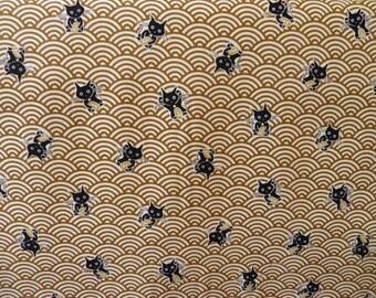 110 * 50 cat wave pattern on dark bronze
