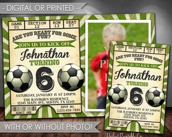 Soccer Birthday Invitation, Soccer Invitation, Soccer Invite, Soccer Birthday Party Invitation, Futbol Birthday Invitation, #560