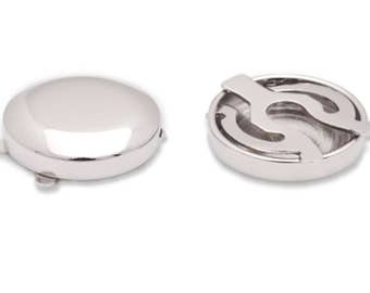 Round Plain Button Covers