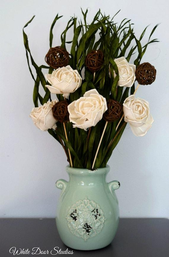 Rustic Dried Floral Arrangment