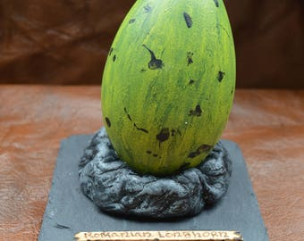 Hand made Romanian Longhorn dragon egg inspired by Harry Potter -