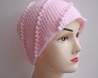 Modèle - Crochet Beanie fouettée - livraison internationale gratuite