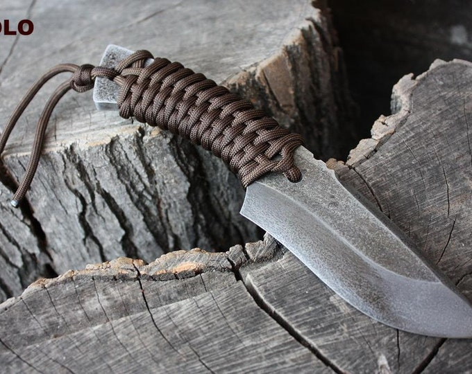 """Handmade FOF """"Solo"""" working, hunting and survival knife"""
