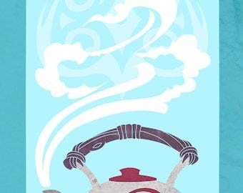 Spirit Tea - Legend of Korra inspired illustration