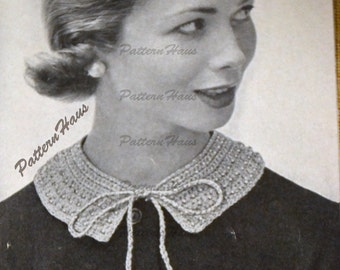 Instant Download Jeweled Collar Crochet Pattern