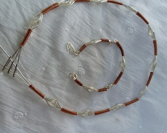 Set wire silver and copper