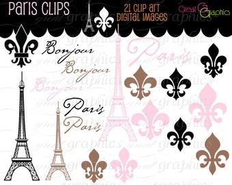 Paris Clip Art Eiffel Tower Clip Art Pink Eiffel Tower Clipart Digital Clip Art Pink Paris Clipart Paris Instant Download