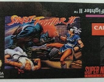SNES Street Fighter II Label