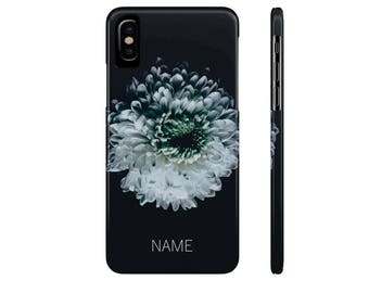 Personalized Phone Case, Flower Phone Case, iPhone X, iPhone 8, iPhone 7, iPhone 6, Galaxy S9, Galaxy S8, Galaxy S7, Galaxy S6