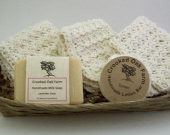 Deluxe Handmade Milk Soap Gift Set