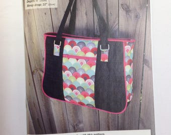 Andrie Designs Goin' Uptown Tote Pattern