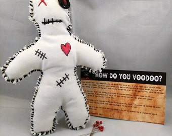 Voodoo Doll Creepy Scary Gothic Doll Occult Spells