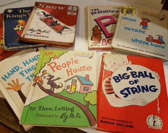 """Vintage  """"I can read it all by myself beginner books"""""""
