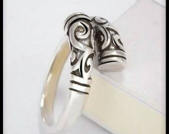 Ethnic Unisex Ring Silver 925