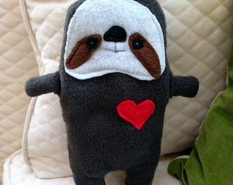 Sal ~ The Sloth Bummlie ~ Stuffing Free Dog Toy ~ Ready To Ship Today