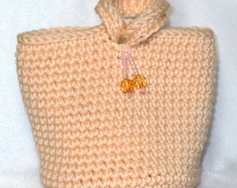 Itsy Bitsy Beaded Yellow Cashmere Evening Bag Wristlet