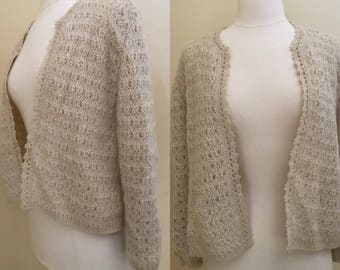 Vintage 1970s mohair sidney gould sweater