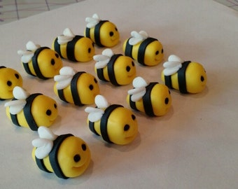 Bumble Bee cupcake or cake toppers!