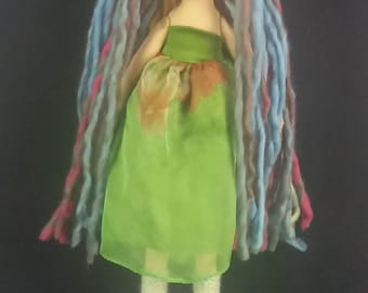 Rainbow Girl Doll Gingermelon Design