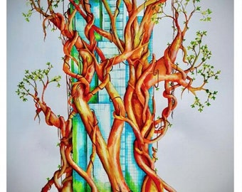 Poster Print of Urban Growth 2