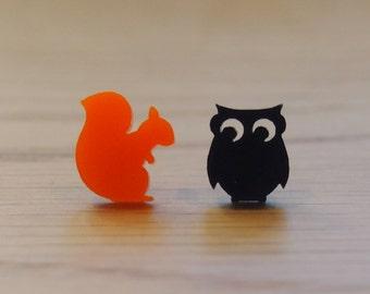 Forest friends earrings