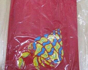 Hermit Crab Towel - EXTRA STOCK