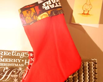 Star Wars Cuff Christmas Stocking