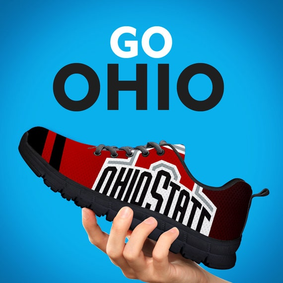 White Gift Gift Sizes Trainers Football Collector Mens Black Womens Gift Kids Custom Running Shoes Buckeyes Sneakers AqPWc8SHq