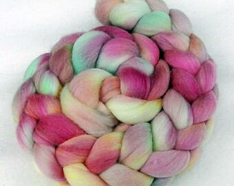 Merino Wool Roving  - Hand Dyed Fiber  5.3 oz.  Nr. 103
