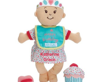 Personalized Baby Stella Blond Soft Baby Doll