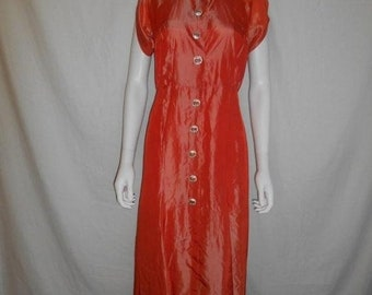 Closing Shop SALE 1950s 50s long dress gown