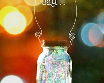 Solar Mason Jar   Fairy Lantern   Garden Decor   Outdoor Lighting   Fairy  Decor