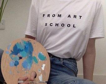 From Art School T-Shirt