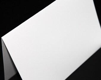 A7 Folded Card White or Black - 25/pk | Cardmaking Supply - Blank Folded Card stock | A7 Folded Card | 25/pk