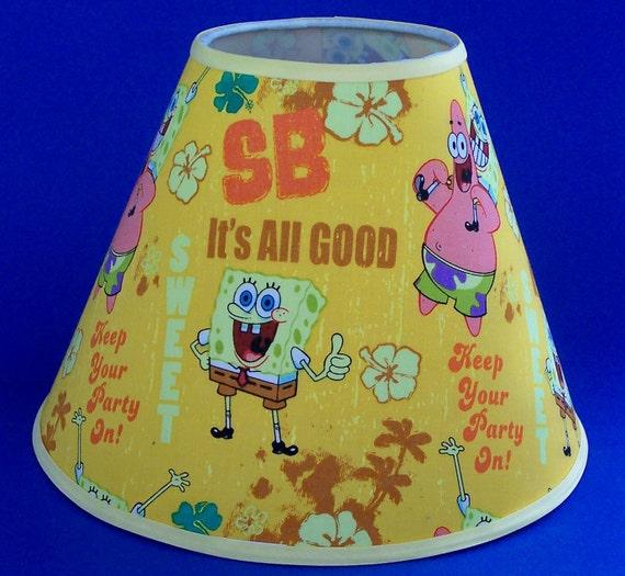 Spongebob lamp shade lampshade aloadofball Choice Image