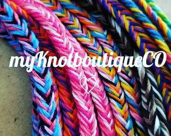 NEW! Handmade! Fishtail friendship bracelet, you choose!