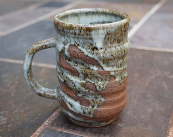 Pottery Mug, Handmade Ceramic Mug, Ceramic Mug, Ceramic Coffee Cup, Coffee Mug, 14 oz