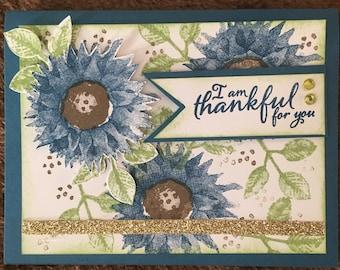 Thankful notecard