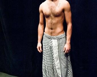 Harem pants Harem pants for Men Kuffieh Keffiyeh Palestinian Keffiyeh Style