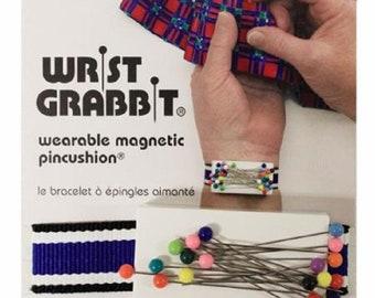 Wrist Grabbit Magnet Pincushion with Pins