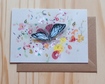 Butterfly card - Blank Inside
