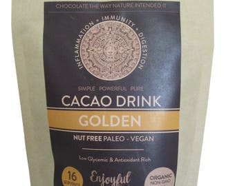 Raw Cacao Drink Mix Golden