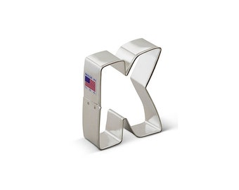 Letter K Cookie Cutter, Baking and Candy Making, Bakeware, Cookie Cutters