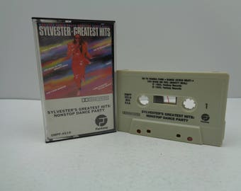 Sylvester's Greatest Hits Non Stop Dance Party Cassette