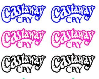 Castaway Cay Decal, Disney cruise decal, DCL sticker, cruise sticker, FE, fish extender gifts, disney sticker, Disney Fantasy, Disney Dream