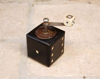 Small old pepper mill