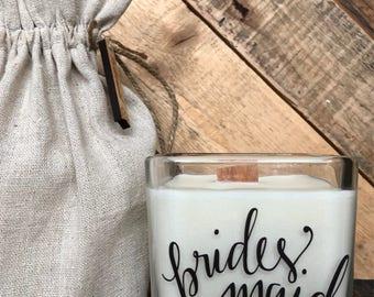 Bridesmaid Gift * Bridesmaid Candle * Bridesmaid Proposal Candle * Bridesmaid Favor * Will you be my bridesmaid * Bridesmaid Gift Box