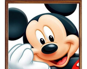 Mickey Mouse Characters 5D DIY Diamond Picture.